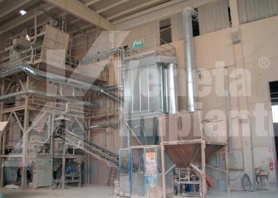 Filtro fmpx-t su impianto lavorazione ceramica