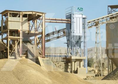 Filtro fmpx su impianto lavorazione minerali
