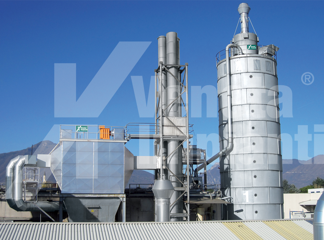 Silo for conveying to boiler and electrostatic filter
