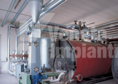 Conveying system to boiler